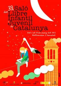 Cartell del Saló del Llibre Infantil i Juvenil de Catalunya 2017