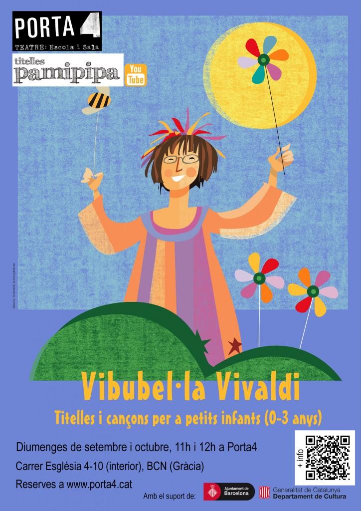Vibubel·la Vivaldi. Espectacle per a Primera infància