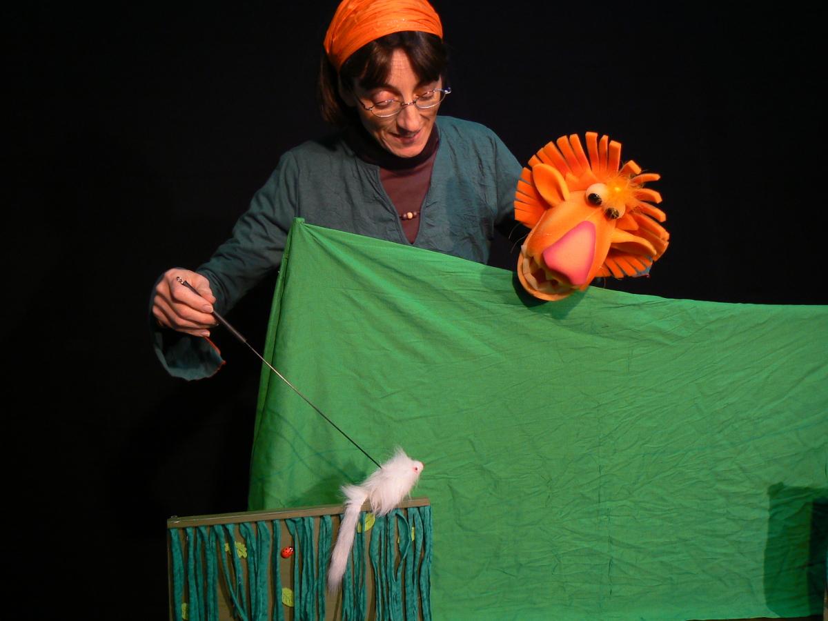 El lleó amb el ratolí