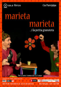 Cartell de Marieta marieta i la petita granoteta a sala Fènix 2018